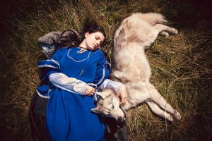 Lyanna Stark 4 (Game Of thrones) by Cireal