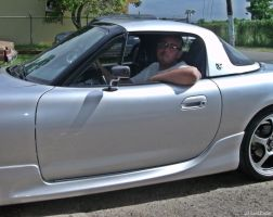 me in a Miata MX5 by Mister-Lou
