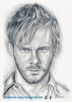 Dominic Monaghan (Charlie Pace - Lost) by kad-portraits