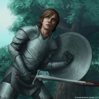 The Knight by OffbeatWorlds
