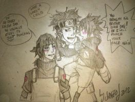 little brother does care by Sanzo-Sinclaire