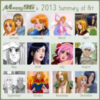 2013 Summery of Art by Maqqy96