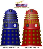 Doctor Who - R.O.T.D. Original Dalek colour scheme by DoctorWhoOne