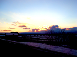 A Vermont Sunset by xSoraliciousx