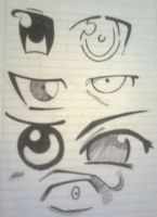 Eyes artwork 1 by B3at1t