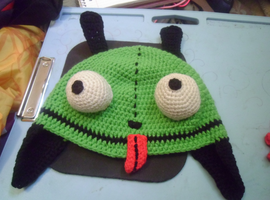 gir crochet hat by kiwicrochet