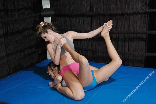 Lift and Carry Tit Mauling Wrestling Catfight #9 by Catfight-Superstars