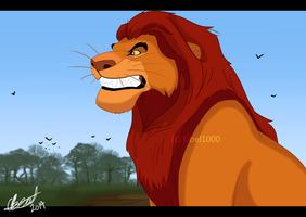 Mufasa Angry by Elbel1000