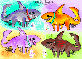 Sharkpuppy Adopts #1 by Shark-Bites
