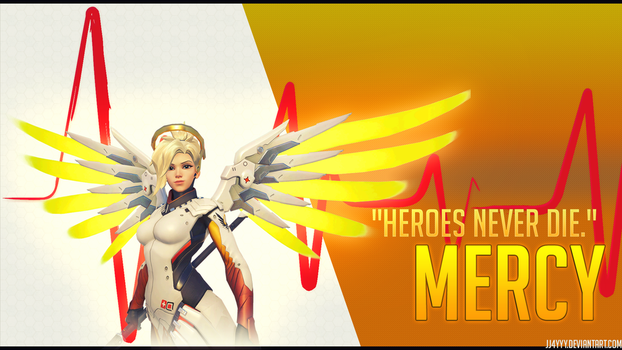 Mercy Overwatch Wallpaper by jj4YYy