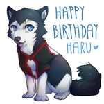 Happy birthday Haru by LuckyPaw