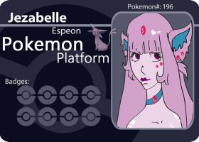 PokePlatform Battle Card by NiveousLamia