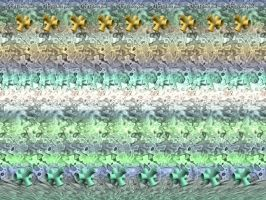 'Wallwalker' 3D Stereogram by fence-post