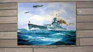 3rd Reich KMS Scharnhorst by Michel Guyot by PanzerBob