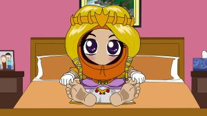 South Park - Princess Kenny Feet by trueshinobi01