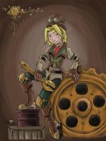 Steampunk Molly by KneonT