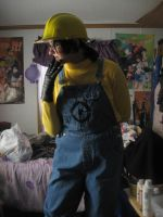 Despicable Me: Minion Costume by forte-girl7