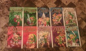 the legend of zelda all mangas by ShabaVision
