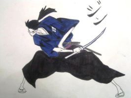 Jin From Samurai Champloo by Velvet-Nightmare