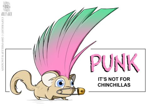 Chinchilla Punk by jollyjack
