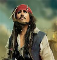Captain Jack Sparrow by usmelllikedogbuns