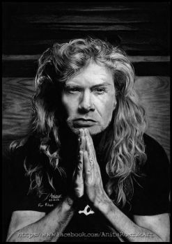 DAVE MUSTAINE II by Red-Szajn