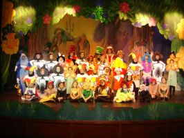 Alice in Wonderland cast photos by moxie2000