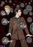 Doctor Who and The Master by saeko-doyle