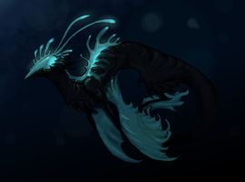 Noctiluca by Skelefrog