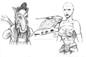 Sketchpad: TCW - 'Ambush' by JasonShoemaker