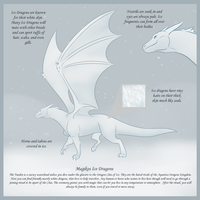 Magikos Ice Dragons by DragonsFlameMagic