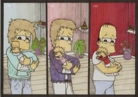 Homer Simpson - Our Babies by ChnProd22