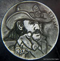 Lemmy Motorhead Hobo Nickel by Shaun Hughes by shaun750