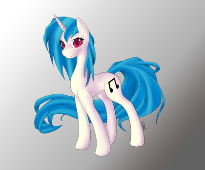 Vinyl Scratch by Ultimiant