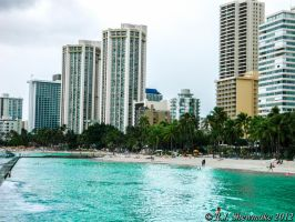 Waikiki Beach (01) by RJShewmake