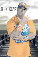 John Cena never give up by Gogeta126