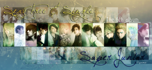 Sexy Free  Single  SUPER JUNIOR by game234