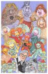 Fraggle Rock art as commision by rodneyfyke