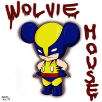 Wolvie Mouse by ishipit