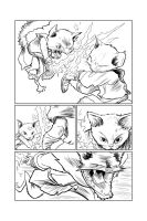 Comic Page Experiment by artistjerrybennett