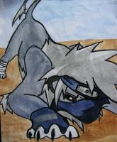 Kakashi Lion by blue-humbug