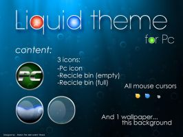 Liquid theme by wildocelot