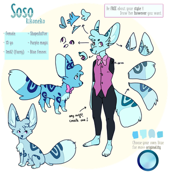 [CLOSED] [YOURS] Soso by Shayxy-s-adopts