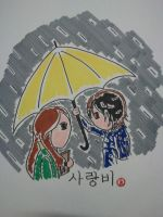 Love rain korean drama Ost by kamui487