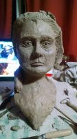 Girl bust in progress  by Tymrin