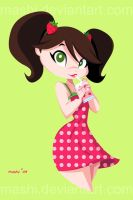 Strawberry Milk by mashi