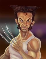 Wolverine-sm by LyleDoucetteArt