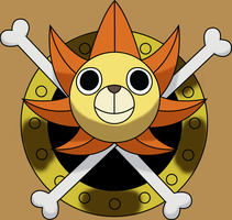 Thousand Sunny! :D by Goldfish-24-7