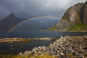 Reinefjorden Rainbow by Dave-Derbis