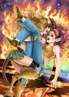 Darkchylde x Pixie by Autumn-Sacura